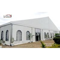 Buy cheap White Roof 1500 Seater Church Event ABS Walling Glass Plane Tent For Sale Nigeria from wholesalers