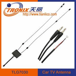 China vhf uhf active car tv antenna/ glass mount car antenna/ car tv antenna TLG7030 on sale