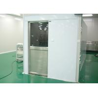 Buy cheap Tunnel Type Air Shower Cleanroom Electric Interlocked For Semiconductor Industry from wholesalers