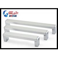 Buy cheap Solid 192mm Kitchen Aluminium Cabinet Handles Square Cupboard Pulls Modern Dresser Knobs from wholesalers