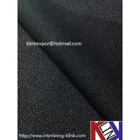 Buy cheap Micro Dot Woven Polyester Fusible Interlining PES coating---BEST QUALITY CHEAP PRICE from wholesalers