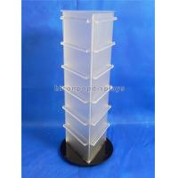Buy cheap 19'' Tall Countertop Spinner Rack Display Stand Custom Acrylic Triangular Display Stand from wholesalers