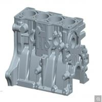 Buy cheap Motor Gear Parts Aluminum Alloy Casting 50000-100000 Shots Mould Life from wholesalers