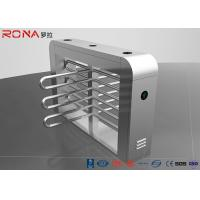 Buy cheap Security Waist Height Turnstiles Entrance Stepping Driver Motor RS485 Communicat product