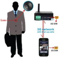 Buy cheap 3G Button Spy Camera Hidden Wireless SIM GSM DVR Iphone Android Cheat Exam Test from wholesalers