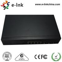 1000Base - T / FX SFP Managed Fiber Optic Switch , 4 / 24 Port Fiber Optic Network Switch