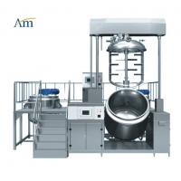 Buy cheap Electric Vacuum Emulsifying Mixer Machine , Strong Cutting Pharmaceutical Homogenizer from wholesalers