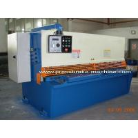 Buy cheap Full Automatic CNC Hydraulic Shearing Machine Guillotine Metal Cutter from wholesalers