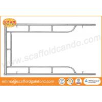 Buy cheap Q235 galvanized scaffolding door frame main frame 1219*1700mm for China bridge building from wholesalers