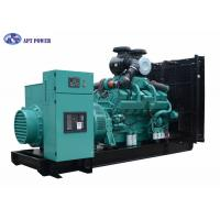 Buy cheap Rate output 700kW cummins standby generator with Leroy Somer Alternator For Building from Wholesalers