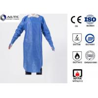 Buy cheap PE Disposable Medical Workwear Protective Clothing Liquid Proof Lightweight product