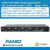 Buy cheap 1080P HD HDMI Seamless kvm switch and multi-viewer and plug-in design from wholesalers
