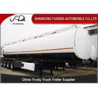 Buy cheap 4 Axles 60000 Liters Fuel Tanker Semi Trailers Mobile Tankers For Oil Transporting from wholesalers