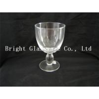 Buy cheap Clear wine goblet glass, Water Goblets Glassware sale from wholesalers