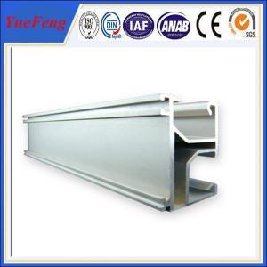 Buy cheap Solar panel mounting aluminum rail, solar system bracket,Solar Mounting Rail for Roof product
