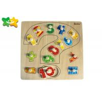 Buy cheap Durable Childrens Kindergarten Learning Toys Pinyin Shape Non Sharp Edge from wholesalers