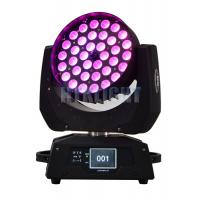 Buy cheap AC90V 36 * 10W LED Moving Head Stage Lights With Die - Cast Alluminun And Plastic Material from wholesalers