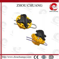 Buy cheap PC And Steel Body 2m Long Cable Length  Wheel Type Cable Lockout with more color from wholesalers