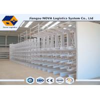 Buy cheap Long Shaped Loads Storage Cantilever Storage Racks Without Front Columns from wholesalers