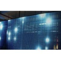 SMD5050 P16 Transparent Glass Display / 5000 Nit Transparent LED Display Screen