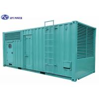 Buy cheap Container Silent Diesel Generator 1000kVA / 800kW Weatherproof and Soundproof from wholesalers