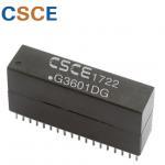 Buy cheap DIP / 36 Pin Ethernet Lan Transformer , High Frequency Lan Isolation Transformer from wholesalers