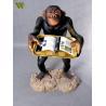 Buy cheap Vivd animal monkey shop display from wholesalers