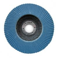Buy cheap 100*16 115*22 125*22 150*22 180*22  MM zirconia flap disc with T27/T29 fiberglass or plastic backing from wholesalers