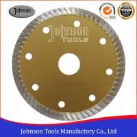 Buy cheap Tile Cutting Tools 105mm Sintered Turbo Saw Blade for Ceramic / Tiles Hot Press from wholesalers