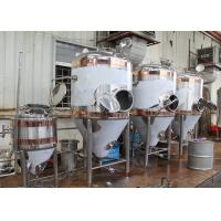 Buy cheap 1500L Conical Beer Fermenter , Stainless Steel Fermentation Tanks from wholesalers