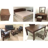 Wooden Durable Classical Apartment Furniture Sets Environment - Friendly High Grade