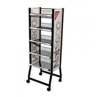 Buy cheap Professional Metal Wire Display Racks With Powder Coating For Nail Polish Customized Logo from wholesalers
