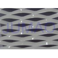 Buy cheap Electric Galvanized Aluminum Expanded Metal , White Metal Sheet With Holes product