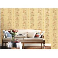Buy cheap American Country Style Deep Embossed Wallpaper Durable 1.06*15.6m Roll Size product