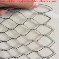 Buy cheap Flexible Stainless Steel Wire Rope Mesh Net/x-tend inox cable wire rope mesh for balustrade and railing from wholesalers
