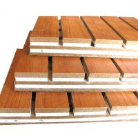 Buy cheap Decorative Sound Absorbing Wall Panels Hotel Wooden Acoustic Ceiling Board from wholesalers