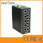 Buy cheap 8 Megabit TX + 2 * 1000 Base SFP FX din rail ethernet switch web smart 10 port from wholesalers