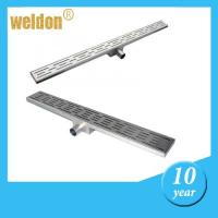 Buy cheap Stainless Steel 304 or 316L Linear channel shower Drains for bathroom from wholesalers