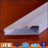 Buy cheap Item L01 3000meters anodized silver suface accessory/industrial kitchen cabinet door aluminium profile extrusion from wholesalers