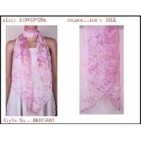 Buy cheap Silk Printed Scarf (6-1038-1) from wholesalers