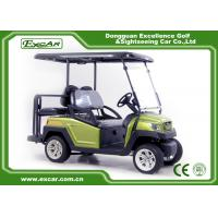 Buy cheap Green EXCAR Electric Golf Car 3 Or 4 Seater 48V ADC Motor CE Approved from wholesalers