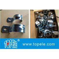 Buy cheap IMC Conduit And Fittings,Zinc Plated Steel One Hole EMT / IMC Conduit Straps/UL listed galvanized steel Rigid one hole s from wholesalers