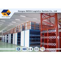 Buy cheap Plywood Board Industrial Mezzanine Floors Racking System With Staircase from wholesalers