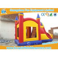 Buy cheap Customized Inflatable Bouncer With Slide , Kids Inflatable Jumping Castles For Rent from wholesalers