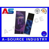 Buy cheap Holographic Rolled Custom E Liquid Labels For e Cig Juice Bottles With Different Flavors from wholesalers
