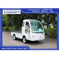 Buy cheap Left Hand Drive Electric Mini Truck For Amusement Park / Campus / Hotel from wholesalers