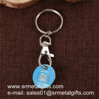 Buy cheap Super store trolley cart coin key holder, China supplier wholesale trolley coin key rings, from wholesalers