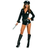 Buy cheap Lady Cop Costume Cop Robber Costumes Wholesale with Size S to XXL Available from wholesalers