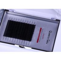 Buy cheap Black Color 0.07mm 3D Eyelash Extensions 3 Mix Length In One Row ILAC MRA Approval from wholesalers