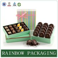 Buy cheap Chocolate Paper Box Packaging , Product Packaging Box for Gift Wrapping product